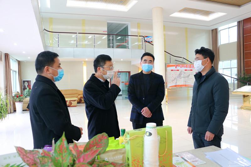 上饶市委常委陈洪生莅临东东集团督导疫情防控工作